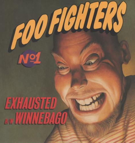 """Foo Fighters Exhausted 12"""" vinyl single (12 inch record / Maxi-single) US FOO12EX50404"""