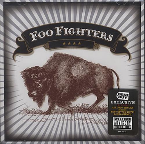 "Foo Fighters Five Songs & A Cover CD single (CD5 / 5"") US FOOC5FI345008"