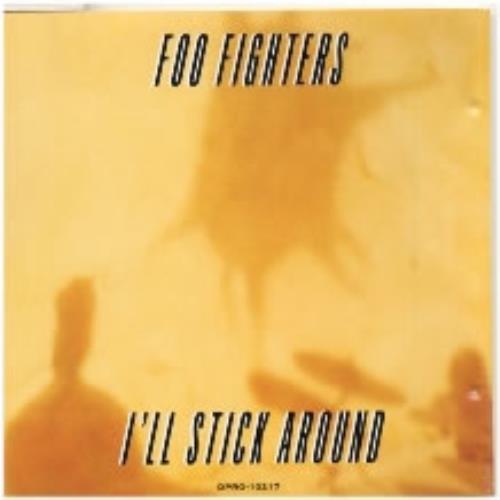 """Foo Fighters I'll Stick Around CD single (CD5 / 5"""") US FOOC5IL56335"""