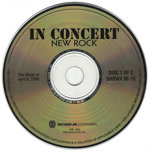 Foo Fighters In Concert: New Rock - Barely Acoustic Special CD album (CDLP) US FOOCDIN274156
