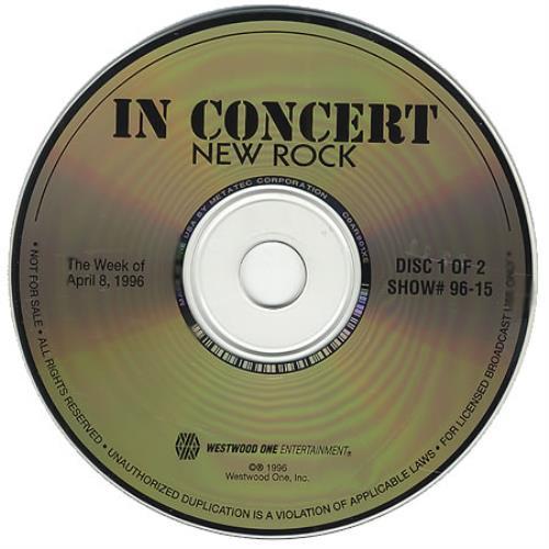 Foo Fighters In Concert: New Rock CD album (CDLP) US FOOCDIN261786