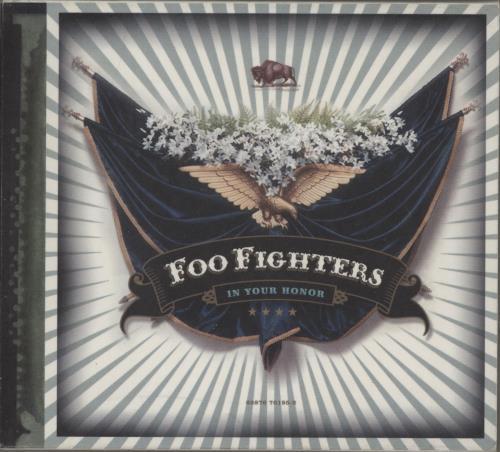 Foo Fighters In Your Honor 3-disc CD/DVD Set UK FOO3DIN753348