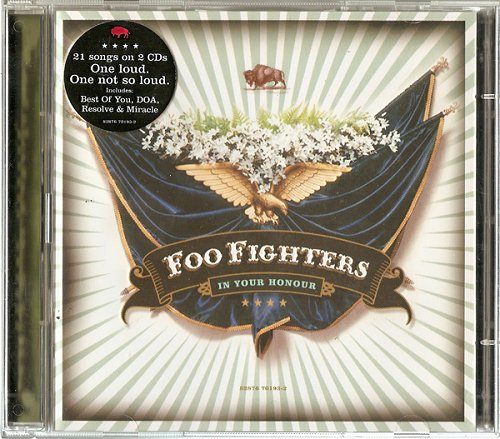 Foo Fighters In Your Honour 2 CD album set (Double CD) UK FOO2CIN325091