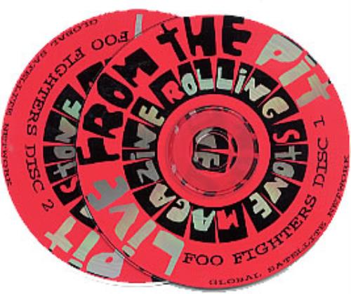 Foo Fighters Live From The Pit 2 CD album set (Double CD) US FOO2CLI96233