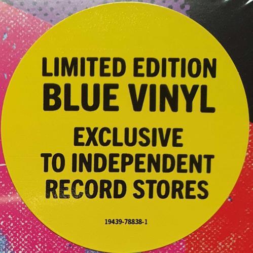 Foo Fighters Medicine At Midnight - Blue Vinyl - Sealed vinyl LP album (LP record) UK FOOLPME762718