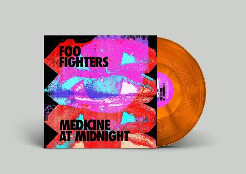Foo Fighters Medicine At Midnight - Orange Vinyl - Sealed vinyl LP album (LP record) UK FOOLPME762720