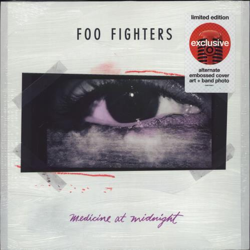 Foo Fighters Medicine At Midnight: Target Edition - Sealed vinyl LP album (LP record) US FOOLPME774666