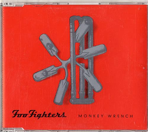 "Foo Fighters Monkey Wrench - 3 Track CD single (CD5 / 5"") Dutch FOOC5MO626013"
