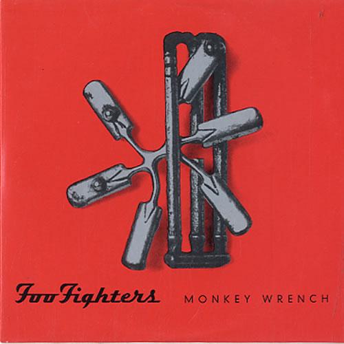 "Foo Fighters Monkey Wrench CD single (CD5 / 5"") Dutch FOOC5MO626011"