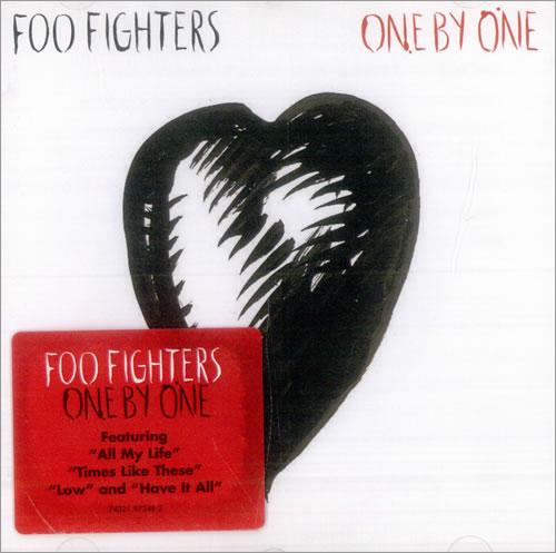 Foo Fighters One By One CD album (CDLP) UK FOOCDON508337