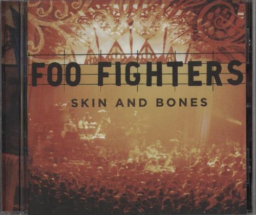 Foo Fighters Skin & Bones CD album (CDLP) UK FOOCDSK379970