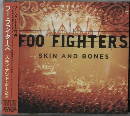 Foo Fighters Skin & Bones CD album (CDLP) Japanese FOOCDSK608490