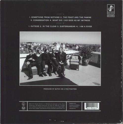 Foo Fighters Sonic Highways - Forever Cover - EX vinyl LP album (LP record) UK FOOLPSO771216