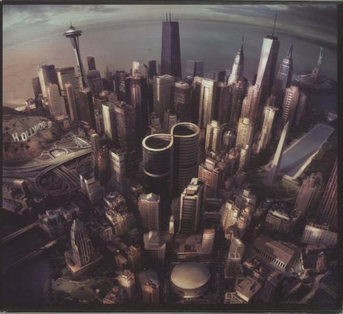 Foo Fighters Sonic Highways CD album (CDLP) UK FOOCDSO683262