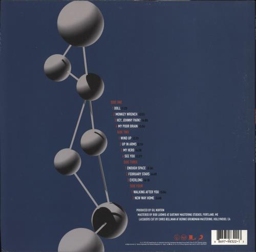 Foo Fighters The Colour and The Shape - 180gm Vinyl 2-LP vinyl record set (Double Album) UK FOO2LTH775616