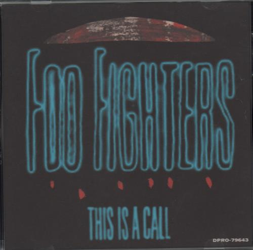 """Foo Fighters This Is A Call CD single (CD5 / 5"""") US FOOC5TH50234"""