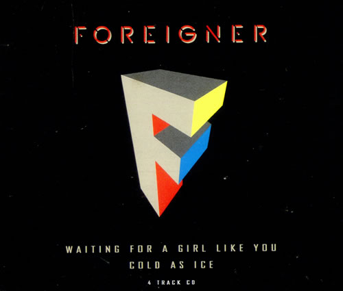 Foreigner Waiting For A Girl Like You German Cd Single