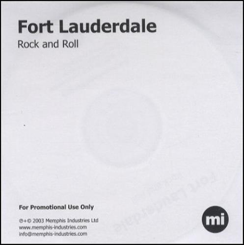 Fort Lauderdale Rock And Roll CD-R acetate UK F\LCRRO270955