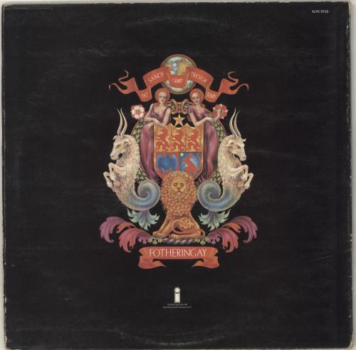 Fotheringay Fotheringay - 1st - EX vinyl LP album (LP record) UK YGFLPFO382191