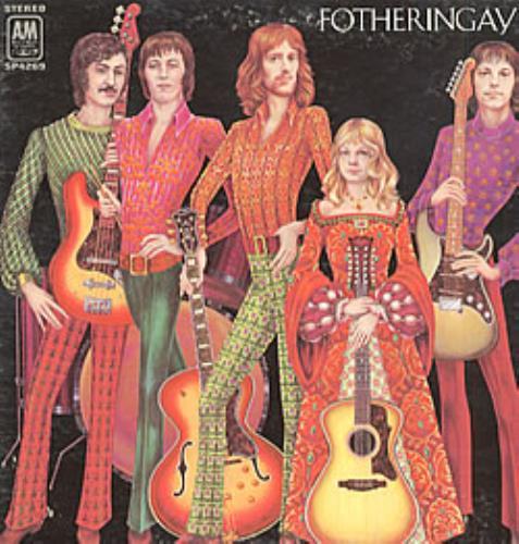 Fotheringay Fotheringay vinyl LP album (LP record) US YGFLPFO211647
