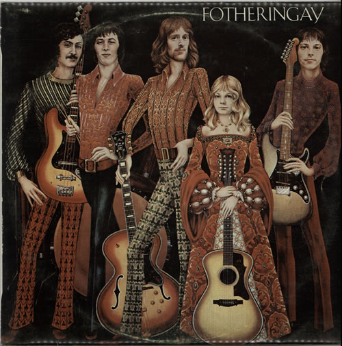 Fotheringay Fotheringay vinyl LP album (LP record) New Zealand YGFLPFO625961