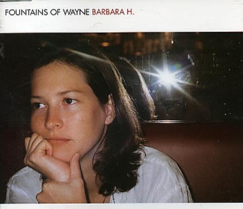 "Fountains Of Wayne Barbara H CD single (CD5 / 5"") UK FOWC5BA272305"