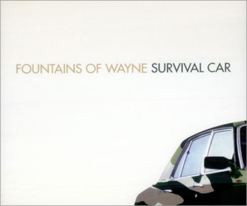 "Fountains Of Wayne Collection Of 4 x CD Singles CD single (CD5 / 5"") UK FOWC5CO425830"
