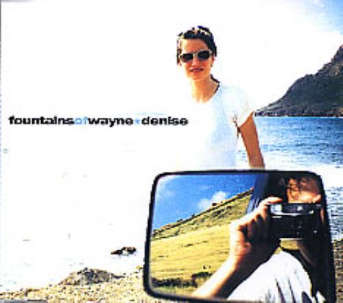 "Fountains Of Wayne Denise CD single (CD5 / 5"") German FOWC5DE272296"