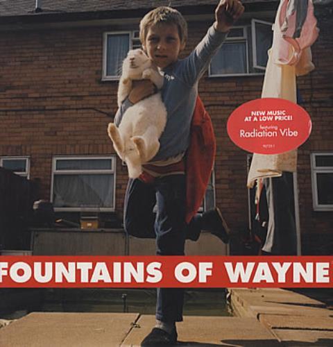Fountains Of Wayne Fountains Of Wayne vinyl LP album (LP record) US FOWLPFO314474