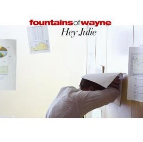 "Fountains Of Wayne Hey Julie CD single (CD5 / 5"") UK FOWC5HE300105"
