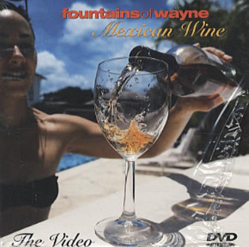 Fountains Of Wayne Mexican Wine DVD US FOWDDME287540