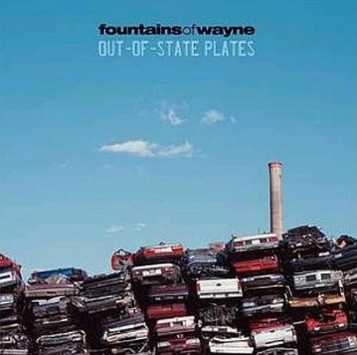 Fountains Of Wayne Out-Of-State Plates 2 CD album set (Double CD) Japanese FOW2COU299629