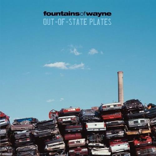 Fountains Of Wayne Out-Of-State Plates 2 CD album set (Double CD) UK FOW2COU327009