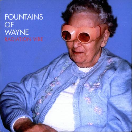 "Fountains Of Wayne Radiation Vibe 7"" vinyl single (7 inch record) UK FOW07RA248685"
