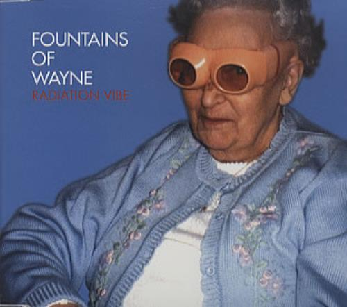 "Fountains Of Wayne Radiation Vibe CD single (CD5 / 5"") German FOWC5RA272293"