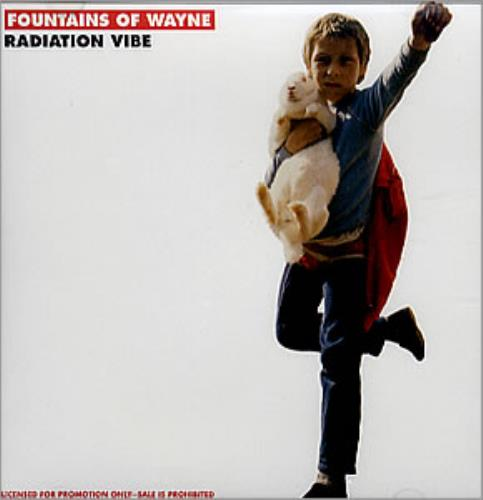 "Fountains Of Wayne Radiation Vibe CD single (CD5 / 5"") US FOWC5RA352243"