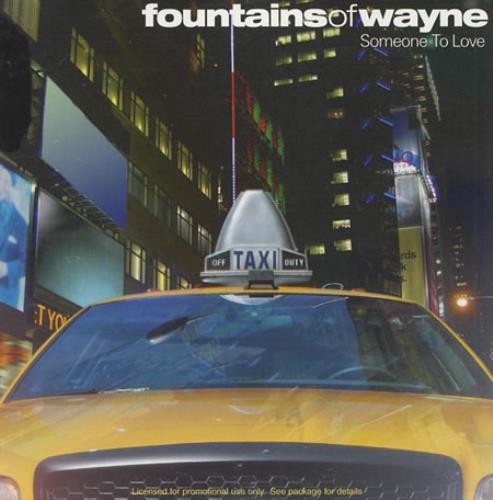"Fountains Of Wayne Someone To Love CD single (CD5 / 5"") US FOWC5SO398117"
