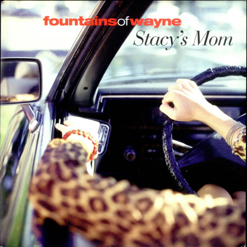 """Fountains Of Wayne Stacy's Mom 7"""" vinyl single (7 inch record) UK FOW07ST276400"""