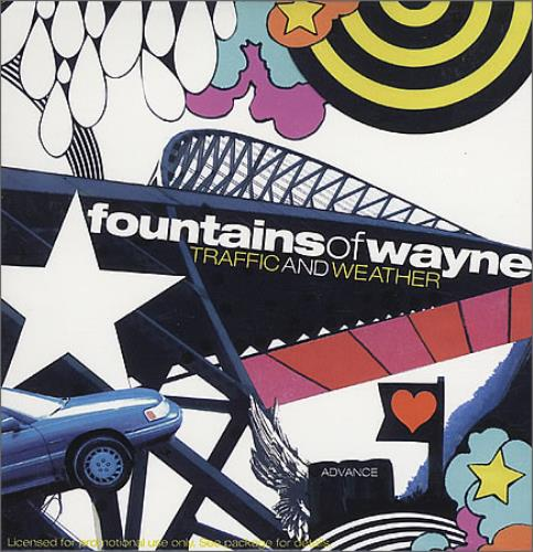 Fountains Of Wayne Traffic And Weather CD album (CDLP) US FOWCDTR398461
