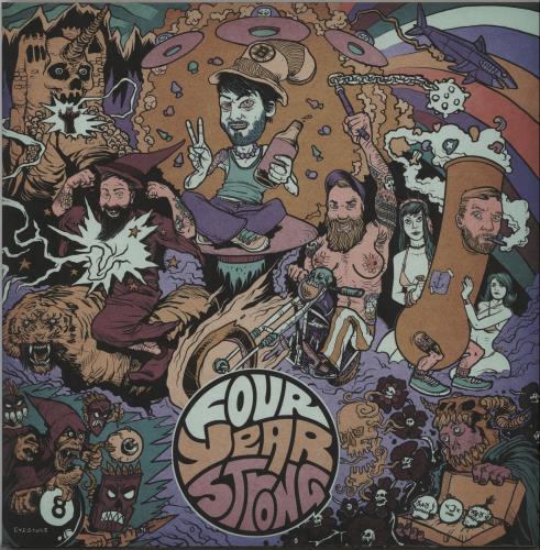 Four Year Strong Four Year Strong - Tri-Colour Vinyl vinyl LP album (LP record) US IQ4LPFO652925