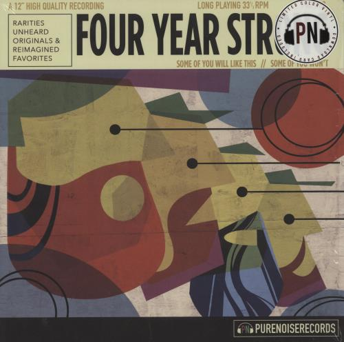 Four Year Strong Some Of You Will Like This/Some Of You Won't - Purple Vinyl vinyl LP album (LP record) US IQ4LPSO751283