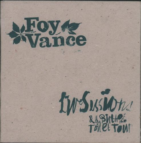Foy Vance Live Sessions EP CD album (CDLP) UK FO4CDLI469104