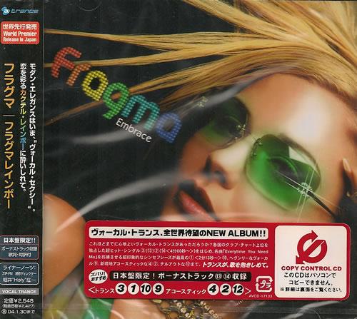 Fragma Embrace - Sealed CD album (CDLP) Japanese FAACDEM487900