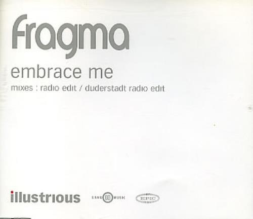 "Fragma Embrace Me CD single (CD5 / 5"") UK FAAC5EM292718"