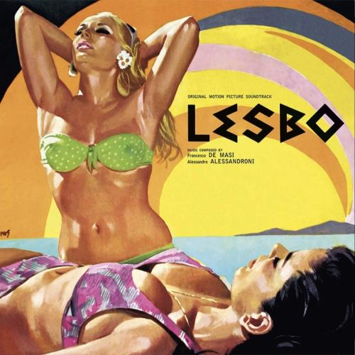 Francesco De Masi & Alessandro Alessandroni Lesbo - Original Motion Picture Soundtrack - 180g vinyl LP album (LP record) Italian 3TYLPLE767142
