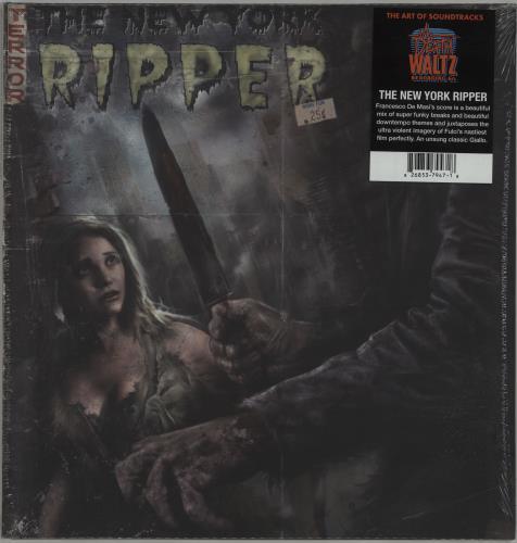 Francesco De Masi The New York Ripper - Green With Black Mix Vinyl vinyl LP album (LP record) UK IRHLPTH658714