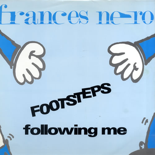 "Frances Nero Footsteps Following Me 12"" vinyl single (12 inch record / Maxi-single) UK FS612FO560742"