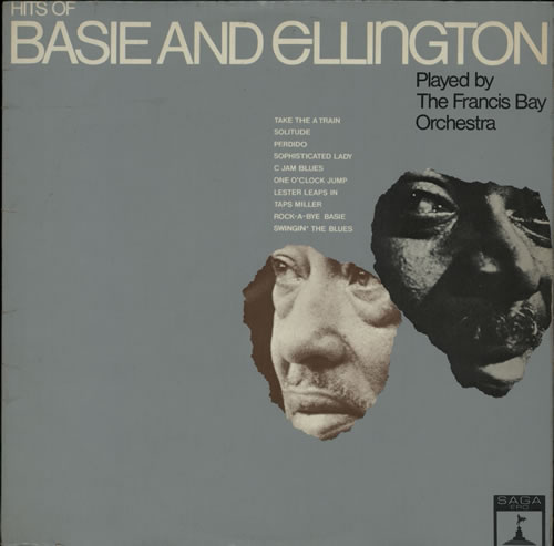 Francis Bay Hits Of Basie And Ellington vinyl LP album (LP record) UK FWCLPHI578095