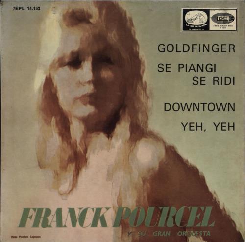 """Franck Pourcel Franck Pourcel Y Su Gran Orquesta EP 7"""" vinyl single (7 inch record) Spanish FPE07FR752595"""