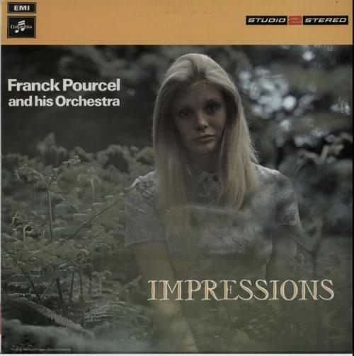 Franck Pourcel Impressions vinyl LP album (LP record) UK FPELPIM611145